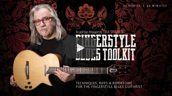 Acoustic Guitar Courses - Fingerstyle Blues