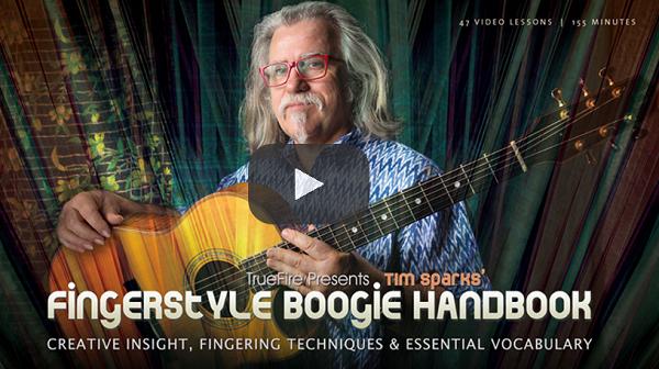 Acoustic Guitar Courses - Fingerstyle Boogie Blues