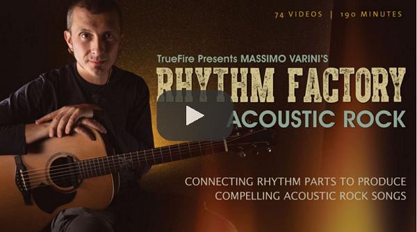 Acoustic Guitar Courses - Acoustic Rock