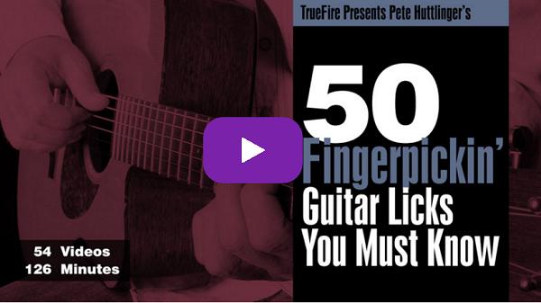 50 Fingerpickin' licks - Pete Huttlinger